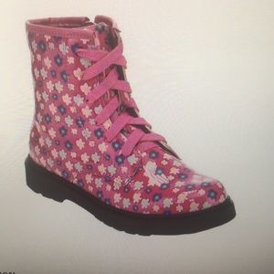 Girls Jelly Beans Bianca Lace Up Boot  (2)